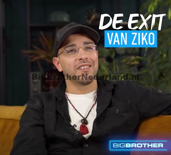 Ziko over zijn verblijf in Big Brother