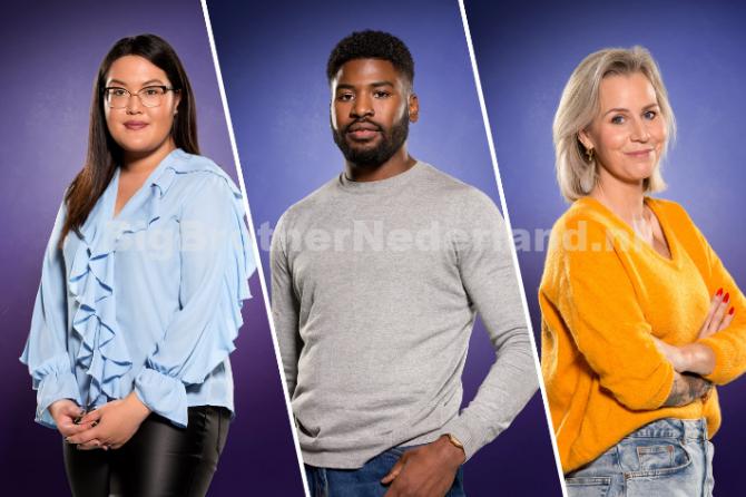 Jowi, Nathalie en Daniëlle reageren op hun vrijwillige vertrek uit Big Brother