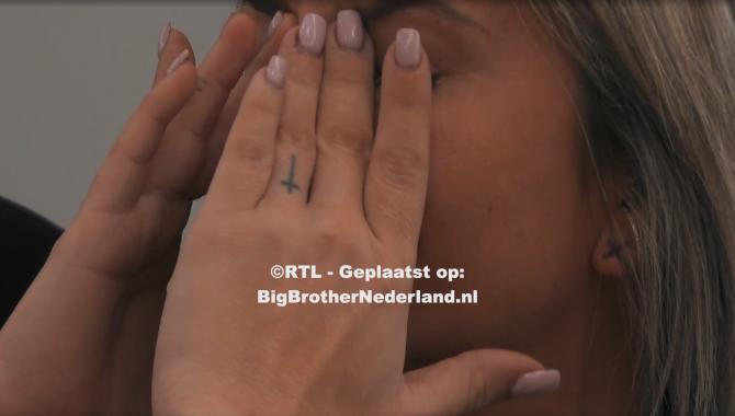 De Big Brother bewoners bespreken de emotionele opdracht