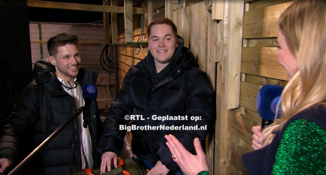 Matt en Jerrel worden nieuwe bewoners van Big Brother na de liveshow
