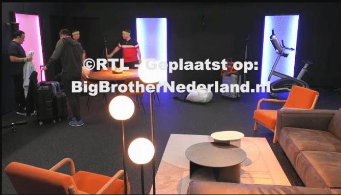 Big Brother deelt de groep bewoners in een rijk en arm gedeelte