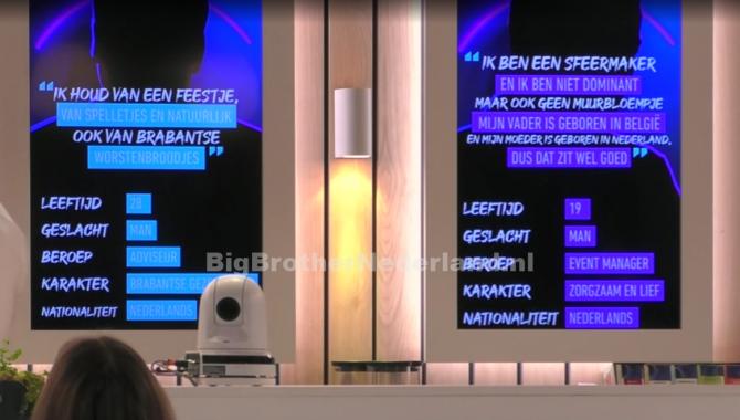 Big Brother deelnemers krijgen nog meer informatie over de mogelijk nieuwe bewoners
