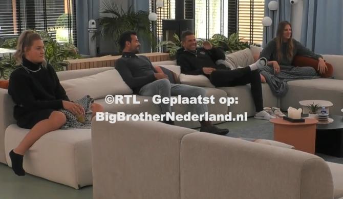 Big Brother geeft iedereen de opdracht één actieve huisregel te verzinnen