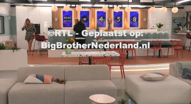 De finalisten spelen het allerlaatste spel in het Big Brother huis