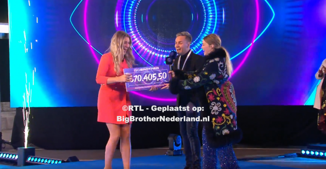 Jill wint de finale van Big Brother 2021