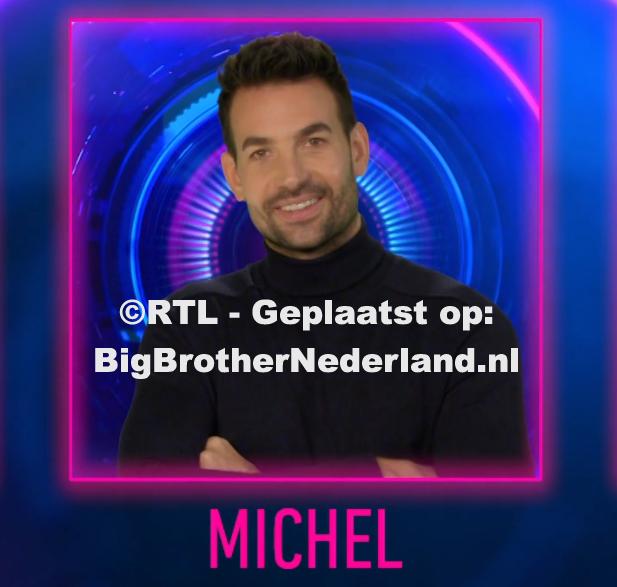Michel spreekt de bewoners toe in een videoboodschap