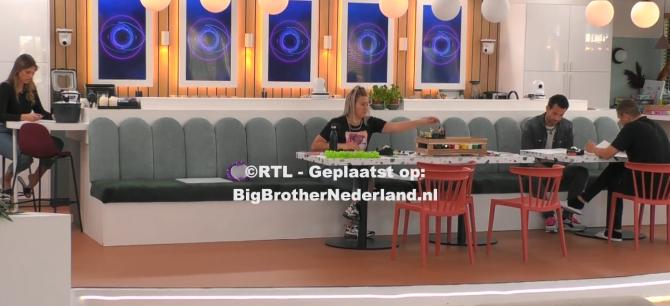 Big Brother geeft de genomineerden een creatieve opdracht